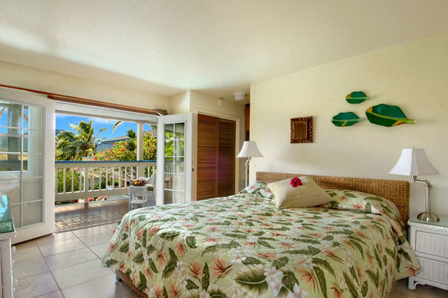 Bungalow master suites and Great view! from poipu kauai vacation rental