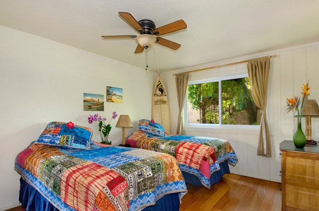 Surf's up room at Poipu vacation rental home